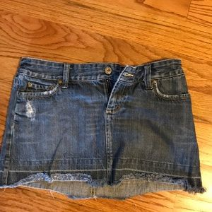 American Eagle Denim Mini Skirt Size 4